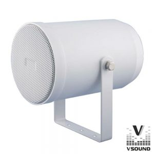 "Altifalante Projetor Som PA 100V 6.5"" 20W Branco VSOUND - (VSPC20W)"