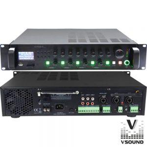 Amplificador PA 12/230V 3 Entradas 360W Mp3/USB/SD/BT - (VSPA360UZ)