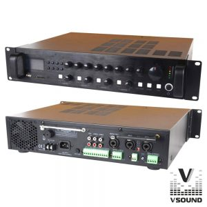 Amplificador PA 12/230V 3 Entradas 60W Mp3/USB/SD/BT - (VSPA60UZ)