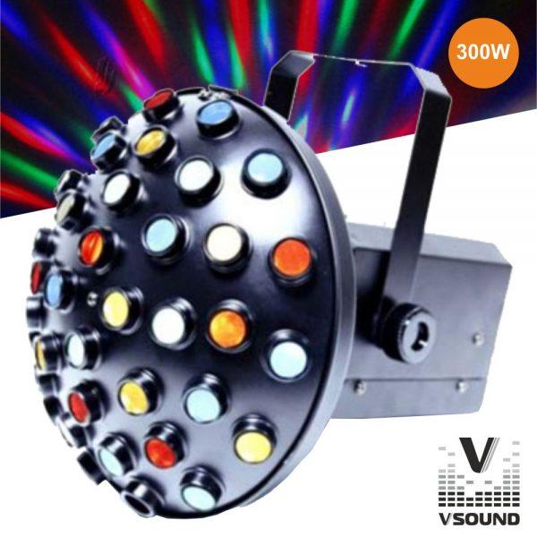 Projetor Luz Colorido 300W VSOUND - (VLF45)