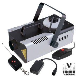 Máquina De Fumos 900W Comando C/ E Sem Fios VSOUND - (VSFUMOS900C)