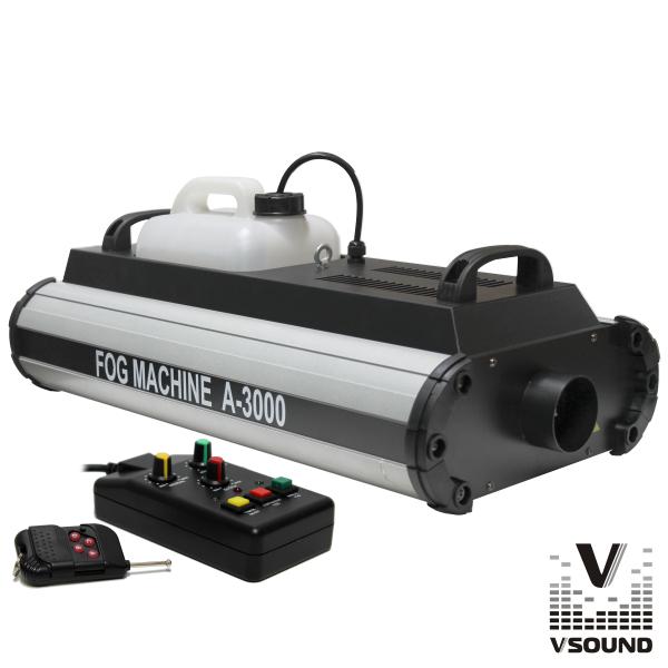 Máquina De Fumos 3000W DMX E Comando VSOUND - (VSFUMOSA3000)