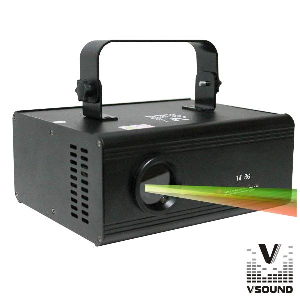 Laser 230mW Vermelho/Verde 3d DMX VSOUND - (VSLASER3DRG)