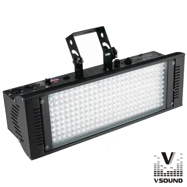 Barra De LEDS C/ Strobe 198 LEDS 10mm RGB DMX VSOUND - (VSLEDB198A)