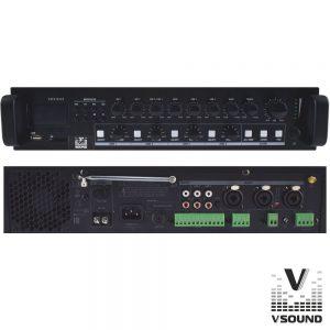 Amplificador PA 12/230V 3 Entradas 120W Mp3/USB/SD/BT - (VSPA120UZ)