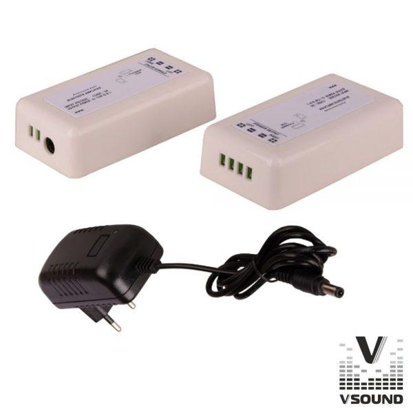 Amplificador Compacto 30W Bluetooth VSOUND - (VSPAC30B)