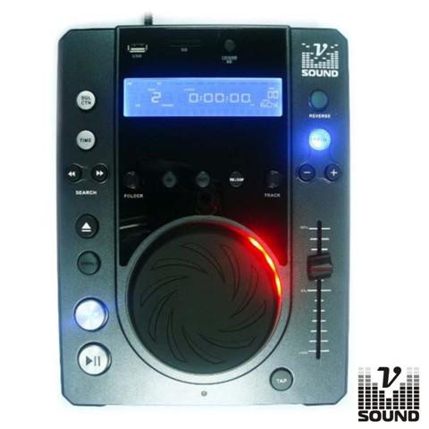 Leitor Cd/USB/SD/Mp3 Scratch Multi-Efeitos DJ VSOUND - (XTREME CD1 MP3)